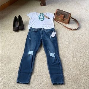 7 For All Mankind Skinny Distressed Jeans 👖